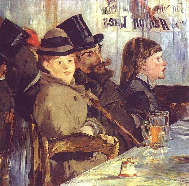 File:Manet, Edouard - At the Café, 1878.jpg