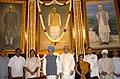 Manmohan Singh, the Speaker, Lok Sabha, Smt. Meira Kumar, the Union Minister for Parliamentary Affairs and Water Resources, Shri Pawan Kumar Bansal, the Chairman of the BJP Parliamentary Party, Shri L.K. Advani.jpg
