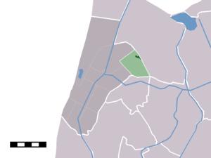 Oudesluis, Schagen - Image: Map NL Zijpe Oudesluis