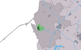 Location of Makkum