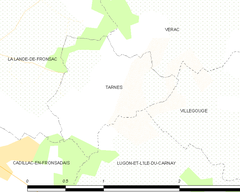 Map commune FR insee code 33524.png