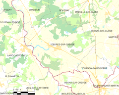 Map commune FR insee code 37282.png