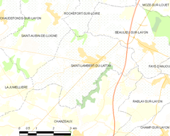 Map commune FR insee code 49292.png