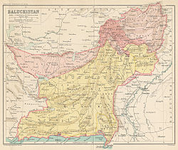 Location of Baluchistan Agency