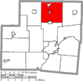 Map of Shelby County Ohio Highlighting Dinsmore Township.png