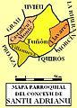 Mapa parroquial de Santu Adrianu (color).jpg