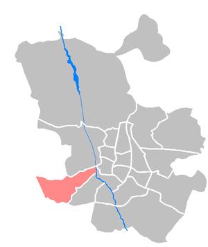 Latina (Madrid) - Image: Maps ES Madrid Latina