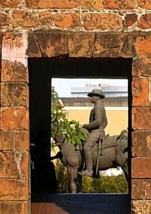 Joaquim Augusto Mouzinho de Albuquerque - Equestrian statue at Maputo's Fortress