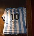 Maradonas's jersey donated to Pope Francis.jpg