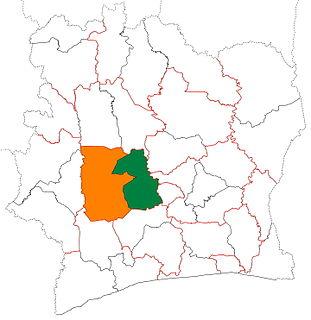 Marahoué Region in Sassandra-Marahoué, Ivory Coast