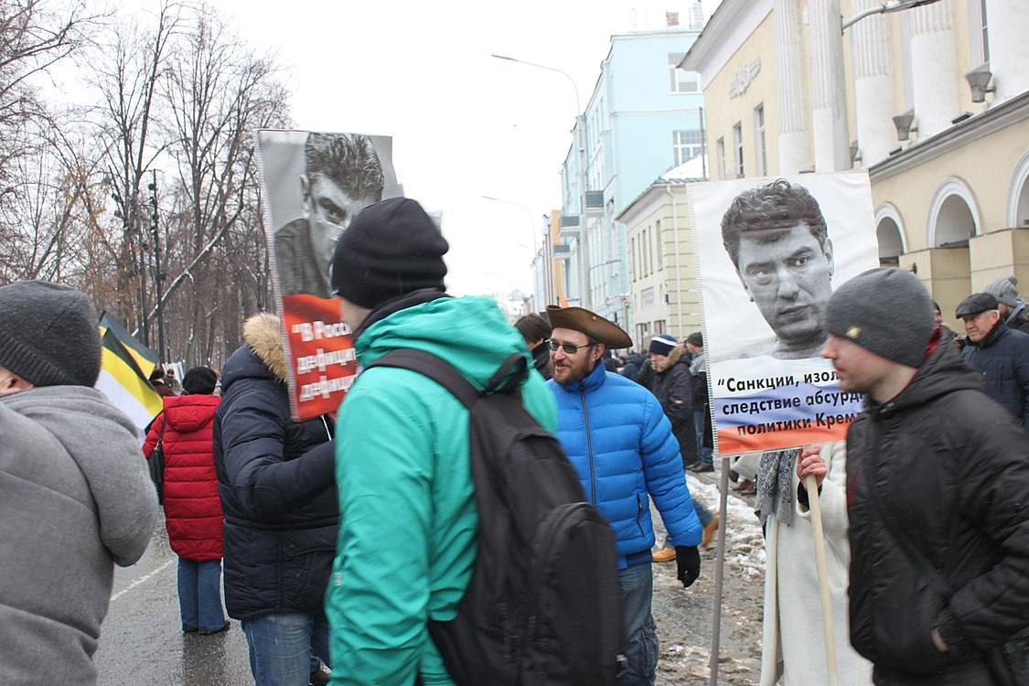 March in memory of Boris Nemtsov in Moscow (2019-02-24) 12.jpg