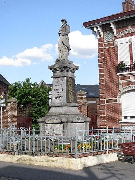 Maretz - Monument aux morts pour la France