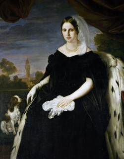 Maria Antonia of Bourbon-Two Sicilies, Grand Duchess of Tuscany.png