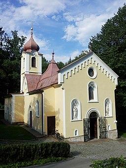 Maria Grüner Kirche Gesamtansicht 2011-08-14