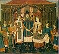 Mariage de Chilpéric Ier et Galsuinthe - Grandes Chroniques de France BNF Fr2610 f31v.jpg