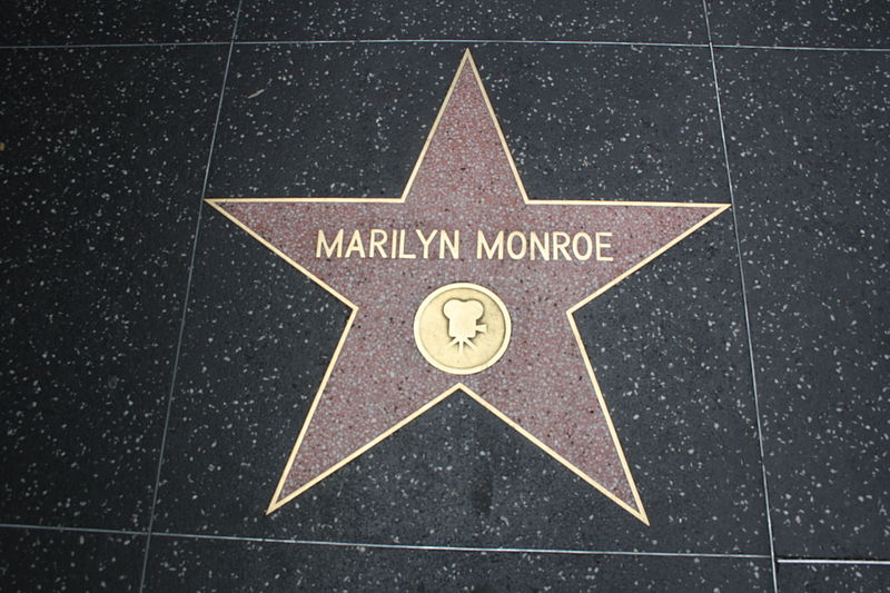 File:Marilyn Monroe's star 2011.jpg