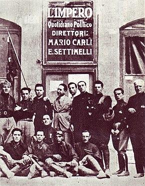 Buon Natale Fascista.Storia Del Fascismo Italiano Wikipedia