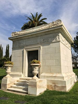 Marion Davies - Mausoleum at Hollywood Forever where Marion Davies is entombed