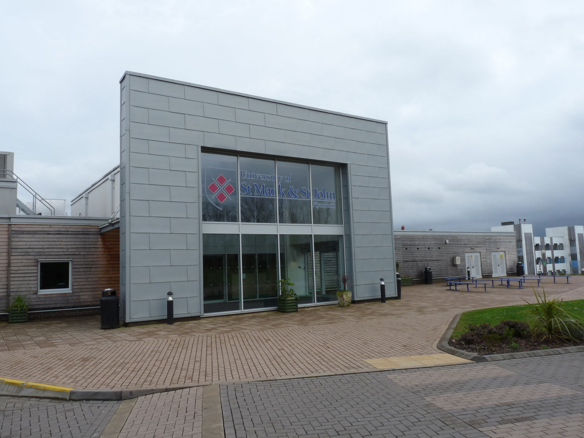 Plymouth University Campus Scb Building