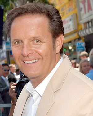 Mark Burnett at his Hollywood Walk of Fame cer...