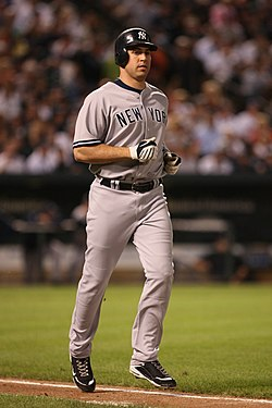 Mark Teixeira im August 2009