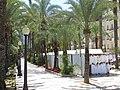 Market stalls, Passeig Esplanada d'Espanya, Alicante, 16 July 2016 (2).JPG