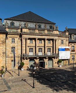 Margravial Opera House Building in Bayreuth, Germany