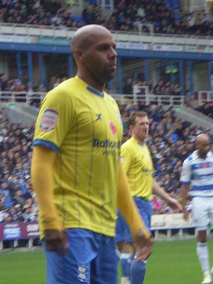 Marlon King - King playing for Birmingham City in 2011