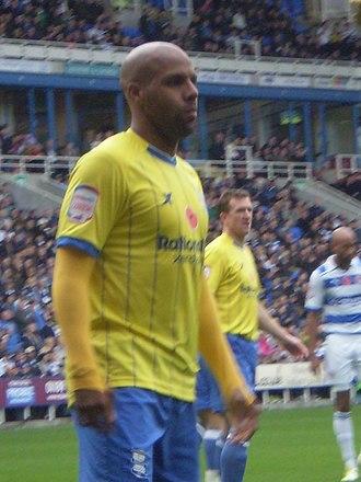 Marlon King - King playing for Birmingham City in 2011