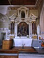 Marolles-les-Braults (Sarthe) église, chapelle nord, retable de la Sainte Vierge.jpg