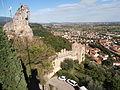 Marostica vue du château supérieur (enceinte).JPG