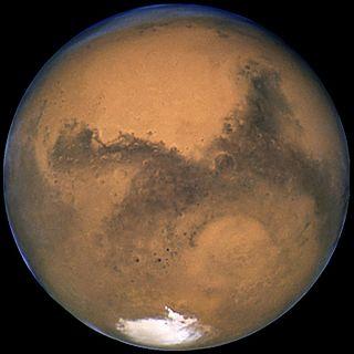 Mars (Aufnahme: Hubble-Weltraumteleskop)