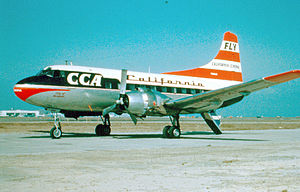 Martin 2-0-2 der California Central Airlines