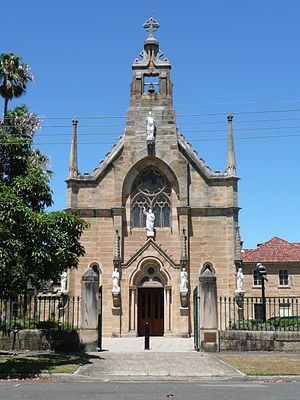 Hunters Hill, New South Wales - Image: Mary Church 2