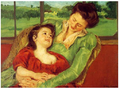 Mary Cassatt Mère et enfant 1903 Armory Show 1913.png
