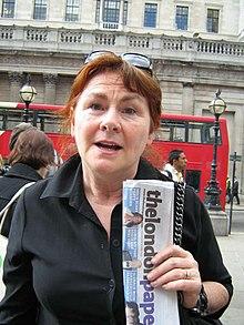 Mary Walsh à Londres, Royaume-Uni.jpg