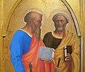 Masolino (con possibile inizio di masaccio), santi dalla pala colonna, 1427-28 ca. 04.JPG