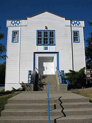 Die Masonic Hall in Maple Ridge, ein Canadian Historic Place