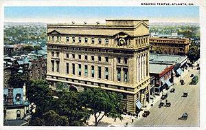 John Robert Dillon - Masonic Temple, Atlanta 1909-1950