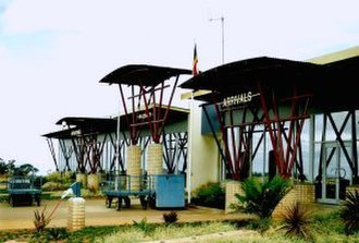 Matsapha Airport - The terminal in 2004