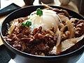 Matsusaka beef gyudon 1 by nmy in Tokyo.jpg