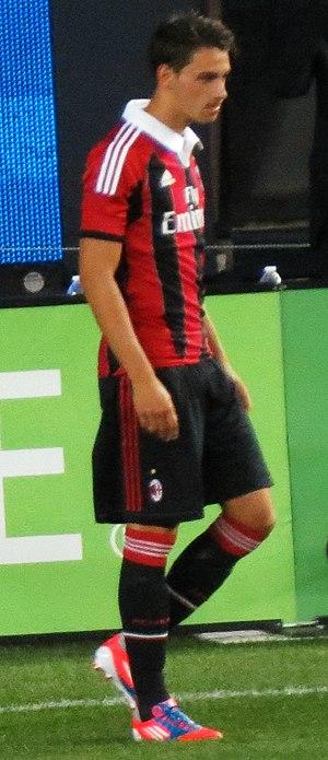 Mattia De Sciglio - De Sciglio in action for Milan