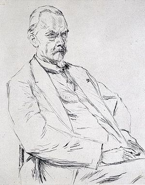 Cornelis Hofstede de Groot - Hofstede de Groot by Max Liebermann, 1928