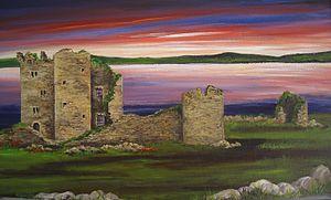 Clan McGrath - McGrath Castle, Termonmcgrath, Barony of Tyrhugh, Co. Donegal