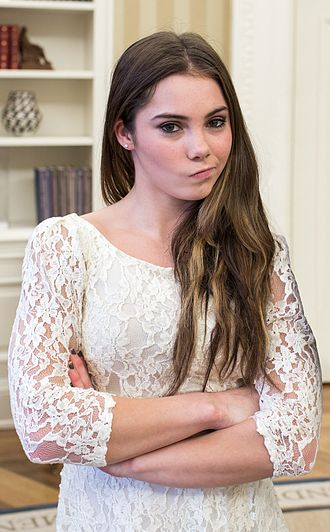 McKayla Maroney - Maroney visiting the White House in November 2012