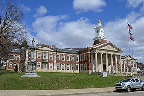 Das McKean County Courthouse in Smethport