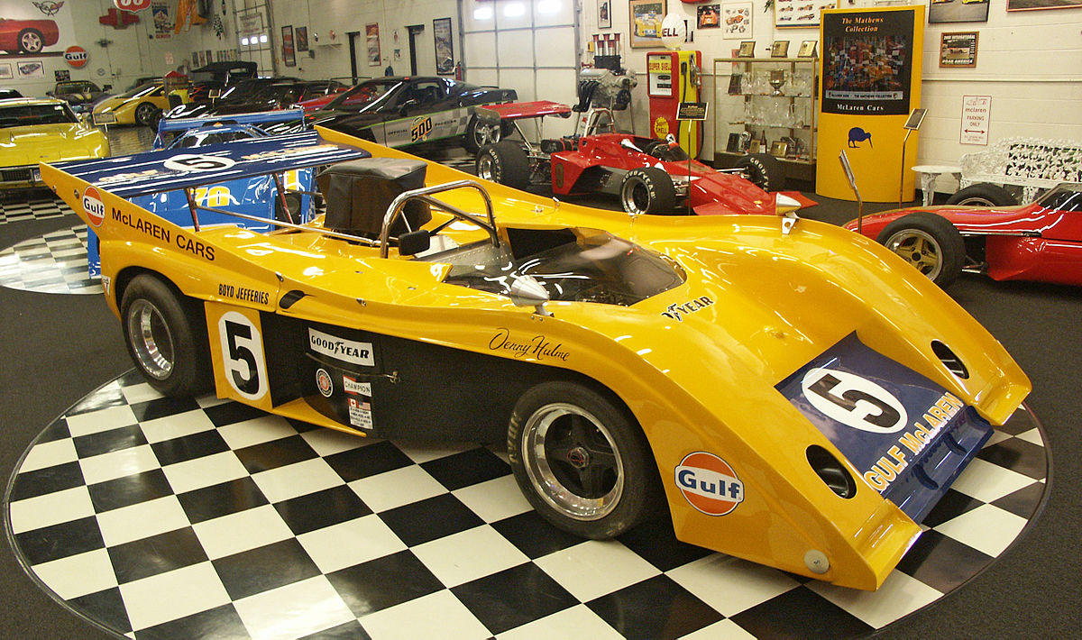 Race Car For Sale >> McLaren M20 - Wikipedia