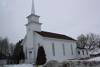 Medina, Outagamie County, Wisconsin - Image: Medina Wedding Chapel WIS96