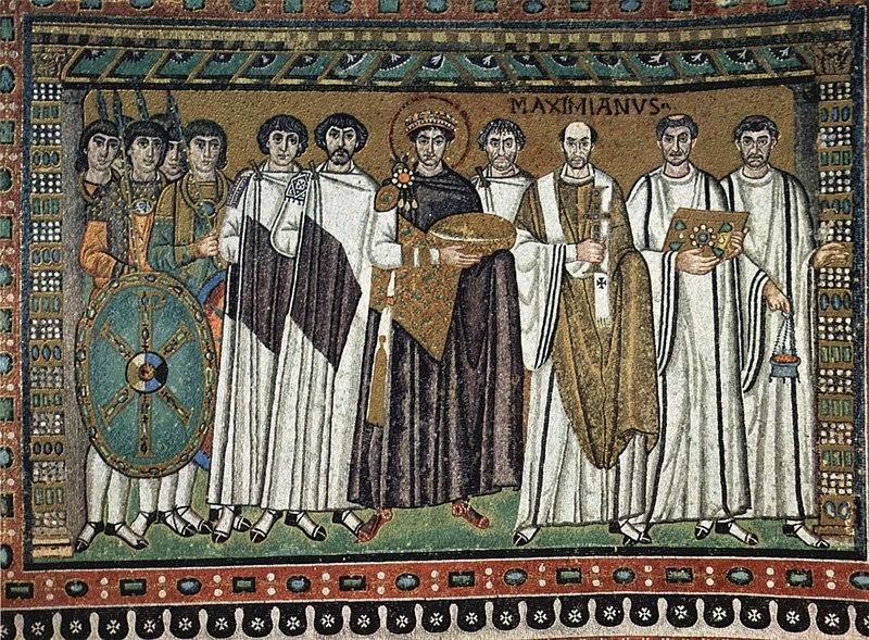 Enkolpio relicario bizantino Mandylion / Crismon 800px-Meister_von_San_Vitale_in_Ravenna_003
