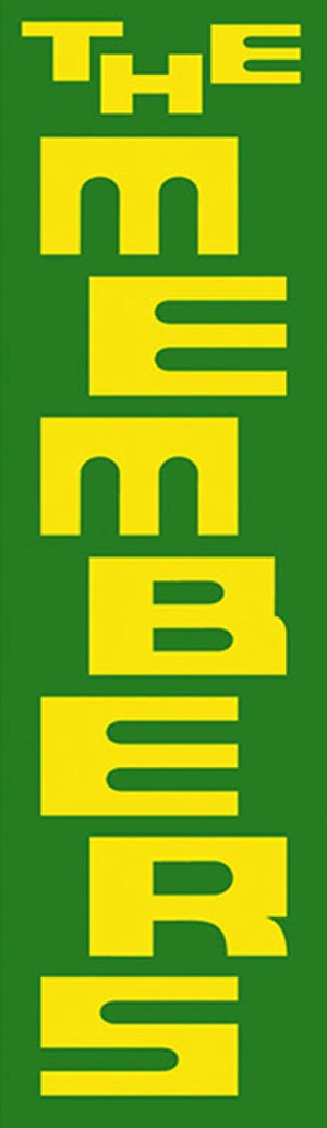 The Members - Official logo of the Members